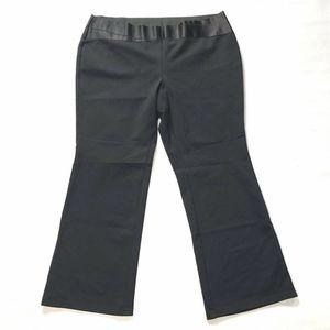 Alfani Bootcut Dress Pants With Ribbon Waist